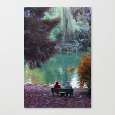 Couple in Fantasy Canvas Print