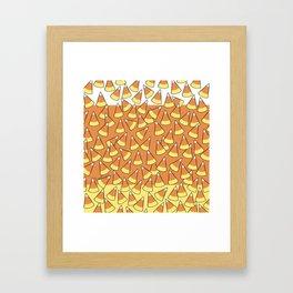 Candy Corn Framed Art Print