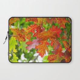 Red Leaves Laptop Sleeve