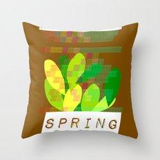 Celebrate Spring Throw Pillow