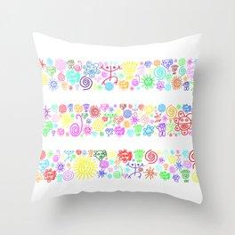 Heaven color Throw Pillow