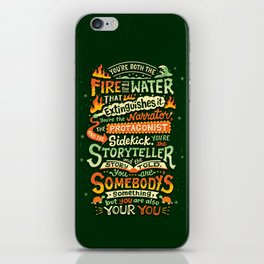 You are your you iPhone Skin