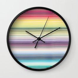 Polychromos Wall Clock
