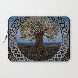 Tree of life -Yggdrasil drawing Laptop Sleeve