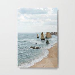 Ocean Forms Metal Print