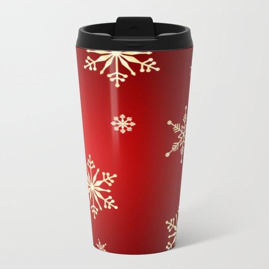 christmas Metal Travel Mug