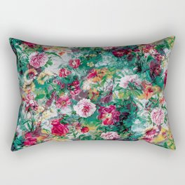 Stormy garden Rectangular Pillow