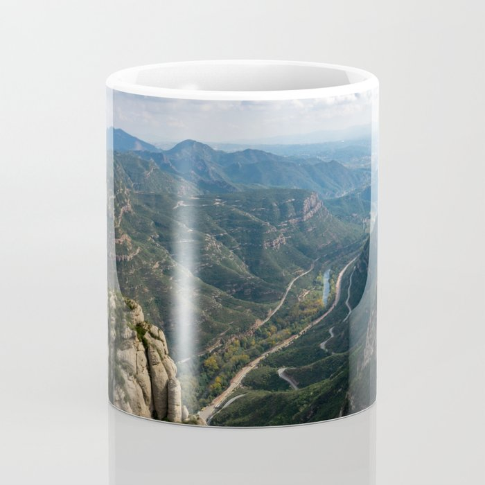 Valley Views from the Montserrat Mountains Coffee Mug