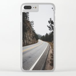 Long ways Clear iPhone Case