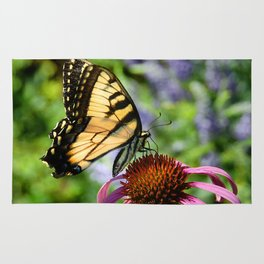 Tiger Swallowtail Butterfly  Rug