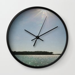 Lake Sunstar Wall Clock