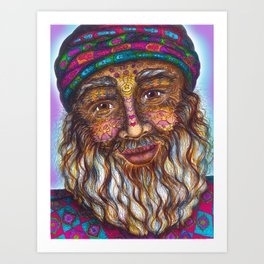 Wisdom Keeper Color #25 (Universal Love) Art Print