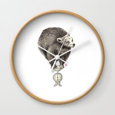 Bear your weight Wall Clock