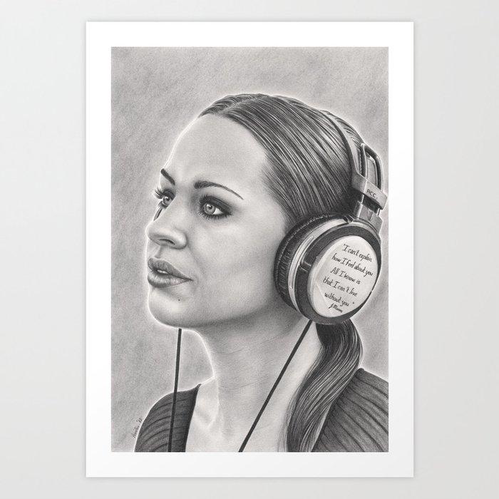 Musical Escapism Art Print