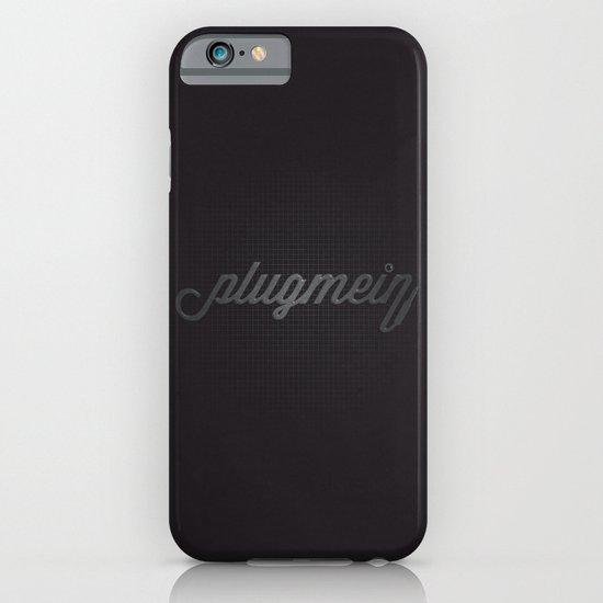 Plug Me In iPhone & iPod Case