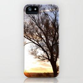 November Morning Sunrise iPhone Case