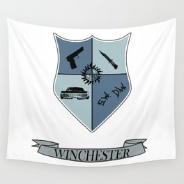 Winchester Coat of Arms Wall Tapestry