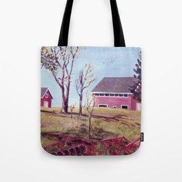 The Evangeline Trail, N.S.  Canada Tote Bag