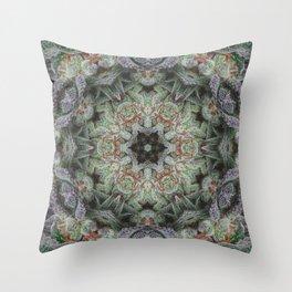 Crystal Wheel Throw Pillow