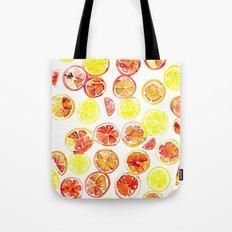 Orange Slice Tote Bag