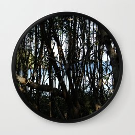 Through the Trees Wall Clock
