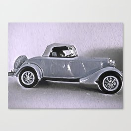 Driving Along In My Automobile Canvas Print