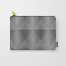 Modern Industrial Harlequin Tile Pattern Carry-All Pouch