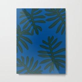 Rare Tropical Houseplant Philodendron Mayoi Metal Print