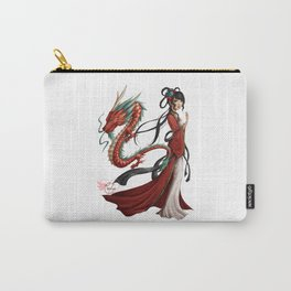 Chinese dragon pure Carry-All Pouch