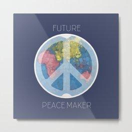 Future Peace Maker Metal Print