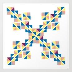 Symbol abstrac Art Print