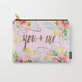 you + me Carry-All Pouch