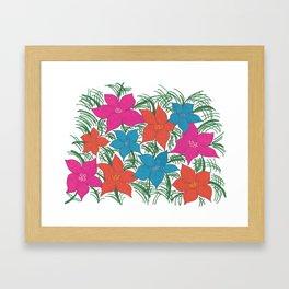 Bright Bouquet Framed Art Print