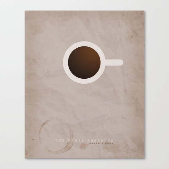 SMOOTH MINIMALISM - Usual Suspects Canvas Print