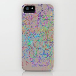 50 Animated Characters  iPhone Case
