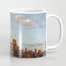 Manhattan Skyline and Sunset Coffee Mug