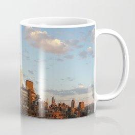 Manhattan Skyline and Sunset Coffee Mug