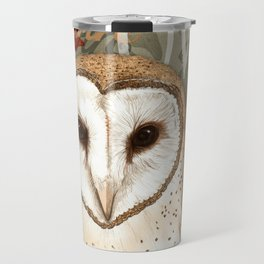 The Barn Owl Journal Travel Mug