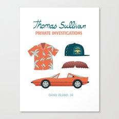 Thomas the Hawaiian PI 02  Canvas Print