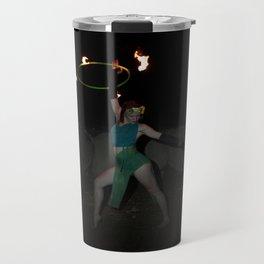 Halo of Fire - Fire Hoop Performance Travel Mug