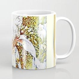 Happy Iris Coffee Mug