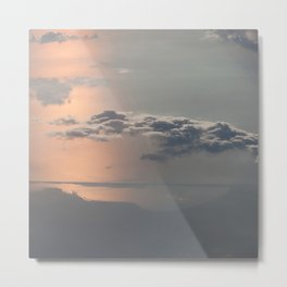 Sailing the Clouds Metal Print