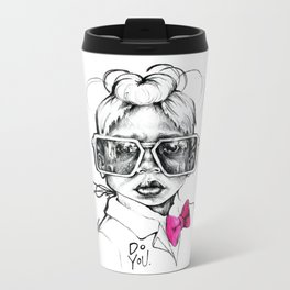 #STUKGIRL Penny Metal Travel Mug