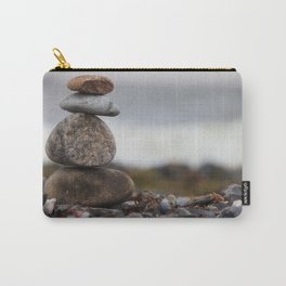Stones at the sea Carry-All Pouch