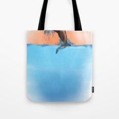 Breaching Whale Tote Bag