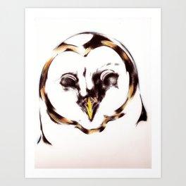 Avian Nocturn  Art Print