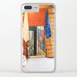 Marrakech Medina - Morocco Clear iPhone Case