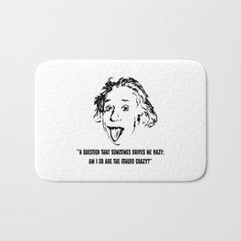 Einstein Crazy Bath Mat