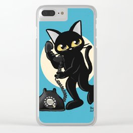 Telephone Clear iPhone Case