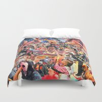 penis Duvet Covers featuring Broken Penis Orchestra - Fuck Rockin in American Airspace (F RIAA) by reservenote